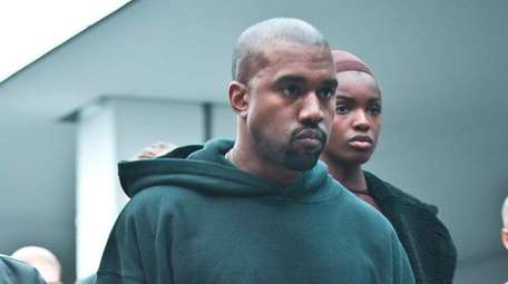 Kanye West introduces his new album and his