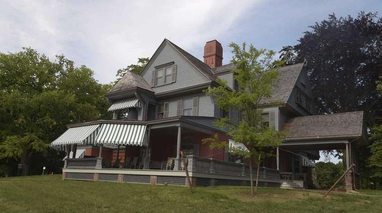 Theodore Roosevelt's summer home Sagamore Hill was reopened