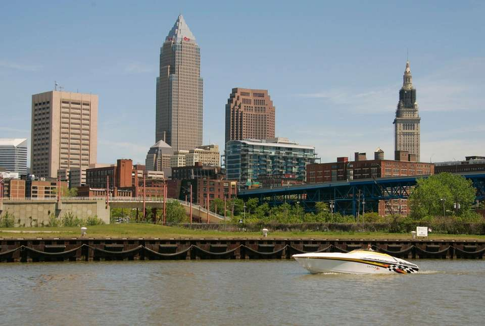 The average salary for workers in Cuyahoga County