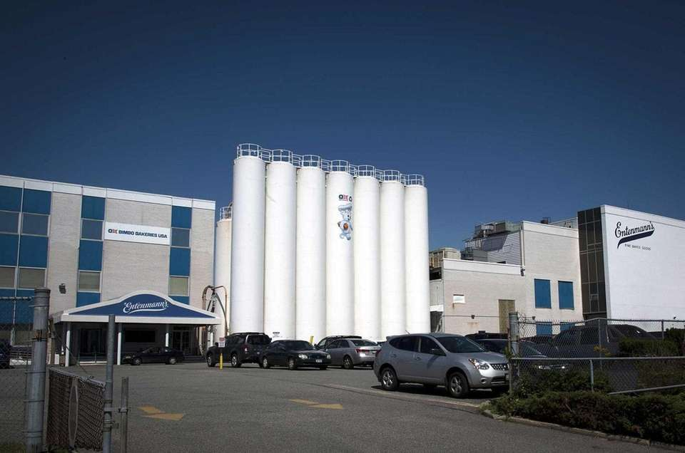 Entenmann's baking plant in Bay Shore ceased production