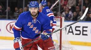 New York Rangers left wing Rick Nash