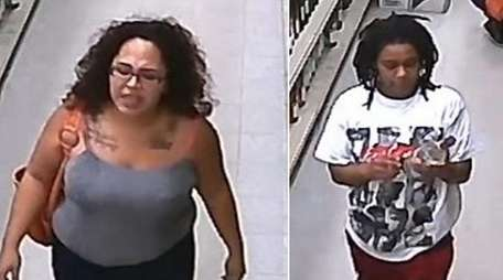 Suffolk County Police are searching for two women