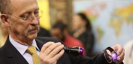 Applied DNA Sciences CEO James Hayward shines a