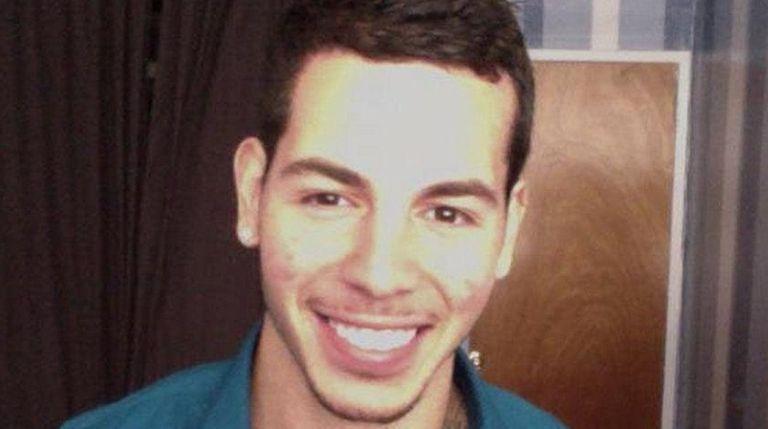 Nicholas Figueroa, 23, who was on a date