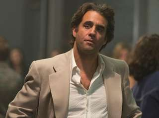 Bobby Cannavale is a record-company executive in the