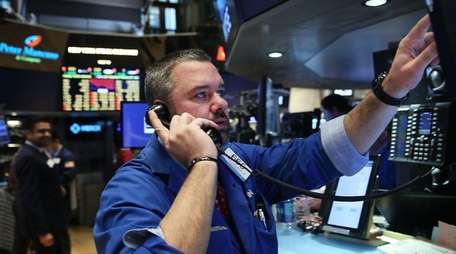 Stock market fluctuations can cause anxiety for those