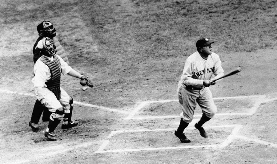 1. Babe Ruth, .690 ... 16. Juan Gonzalez,