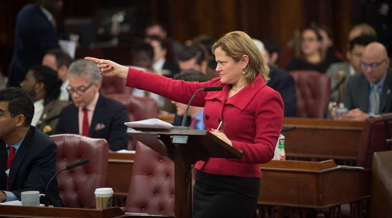 New York City Council Speaker Melissa Mark-Viverito