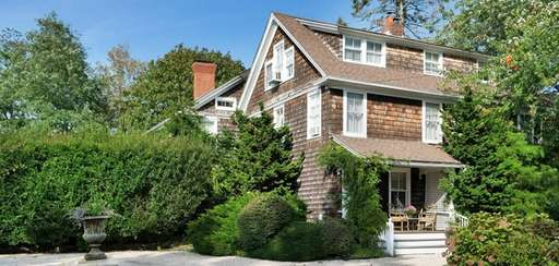 This Southampton Village house, operating as a bed-and-breakfast