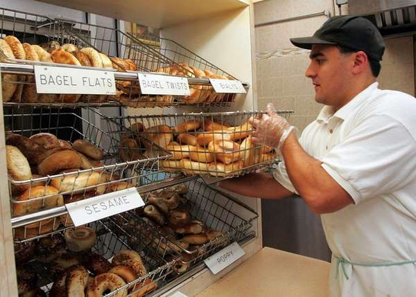A&S Bagels in Franklin Square was named one