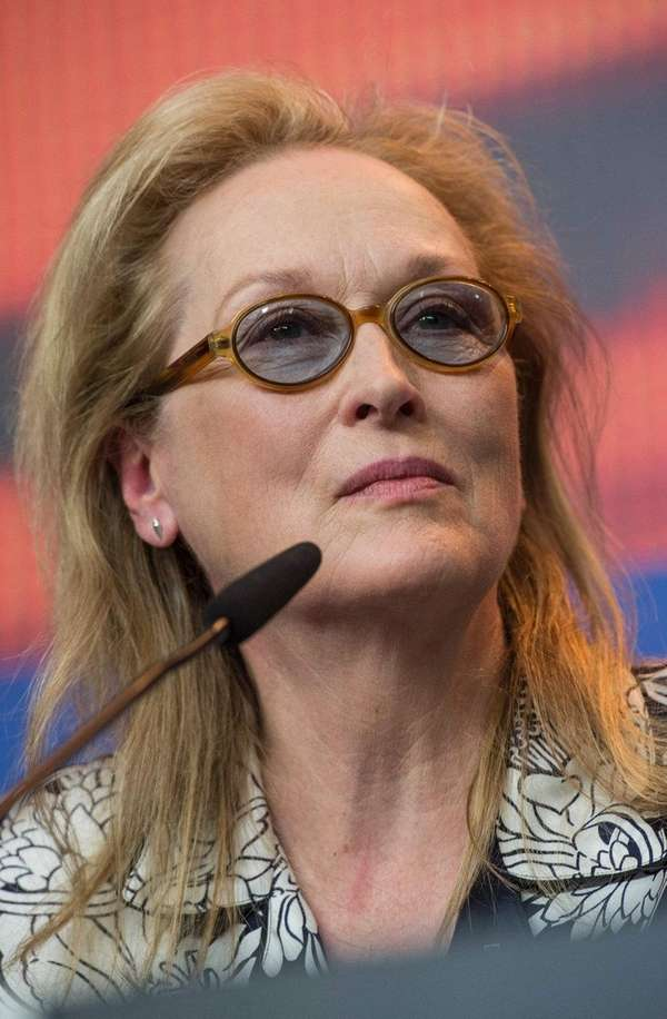Actress Meryl Streep, who is jury president of