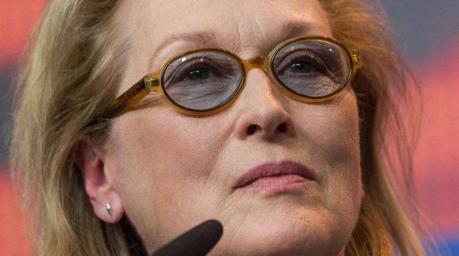 Actress Meryl Streep, who is jury president of