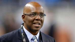 Former Detroit Lions general manager Martin Mayhew has