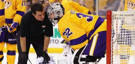 Jonathan Quick of the Los Angeles Kings is