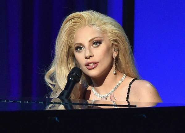 Lady Gaga, shown performing at the Producers