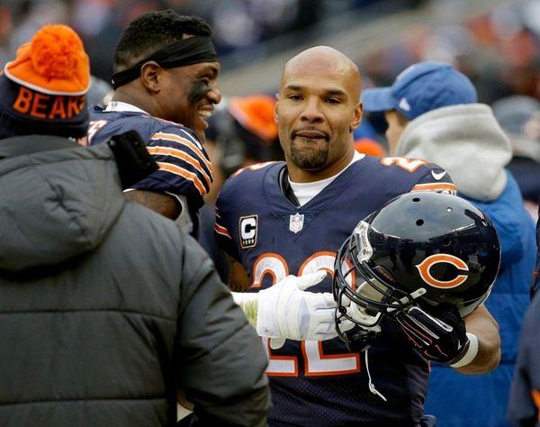 Chicago Bears running back Matt Forte (22)