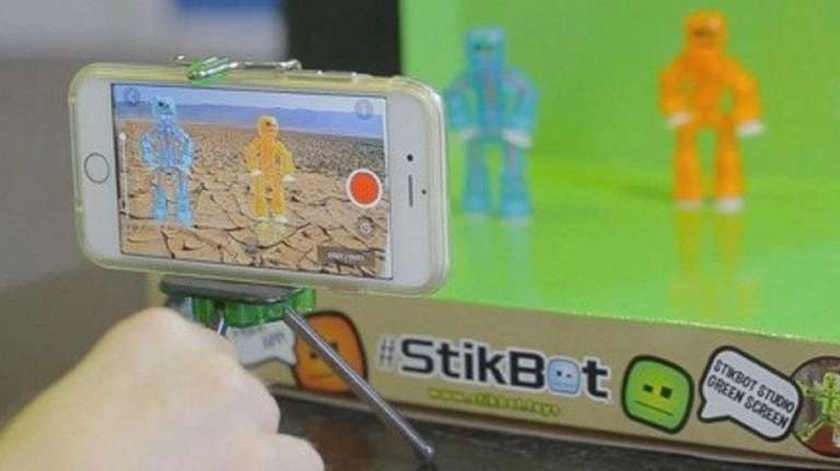 With Stikbot Studio Pro from Zing, kids and