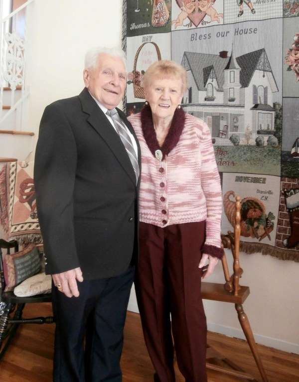 Phyllis and Edward Loder of Port Jefferson Station,