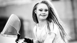 Madeline Stuart, an 18-year-old Australian model with Down