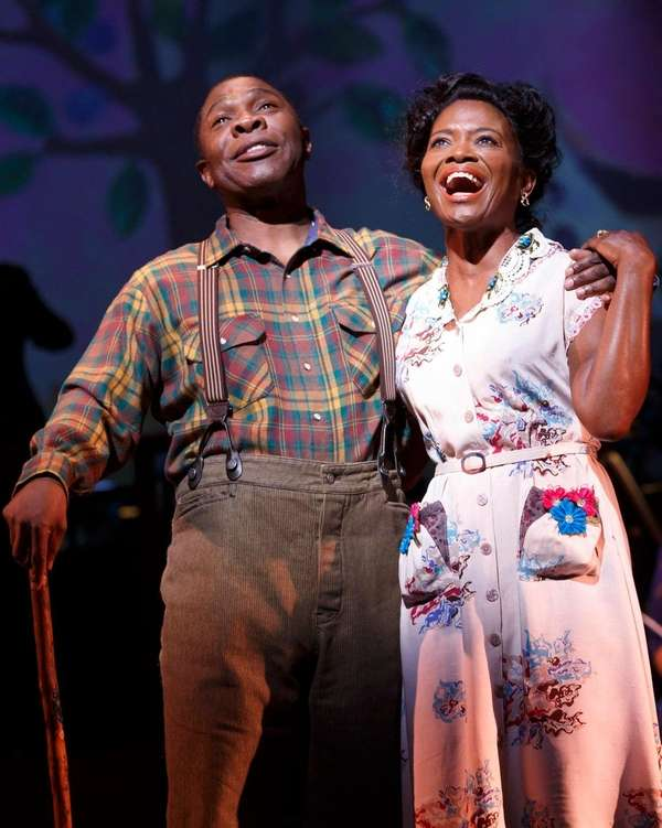 Michael Potts and LaChanze in New York City
