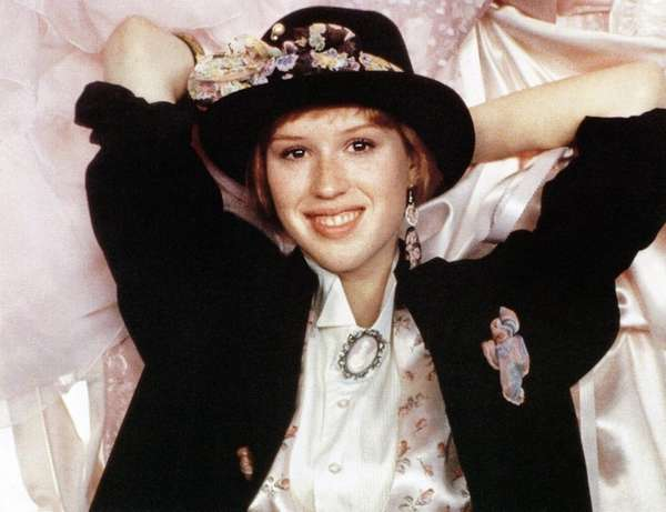 Molly Ringwald played a girl with a complicated