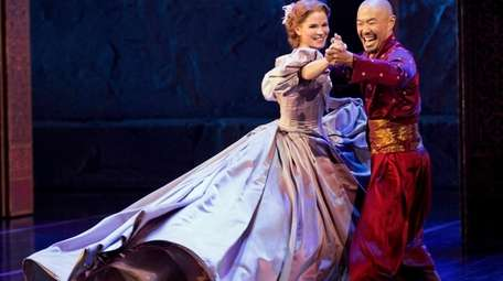 Kelli O'Hara and Hoon Lee in Lincoln Center