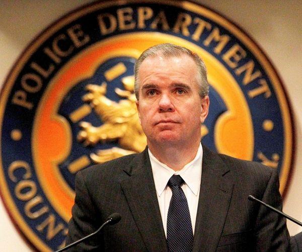 Acting Police Commissioner Thomas Krumpter discusses the Nassau