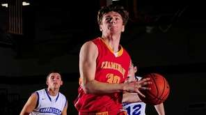 Chaminade forward Kyle Murphy (30) drives to the