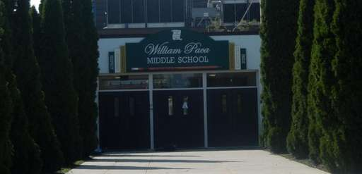 William Paca Middle School in Mastic Beach on