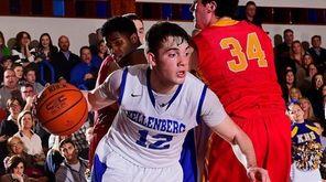 Kellenberg guard Steven Torre drives to the basket