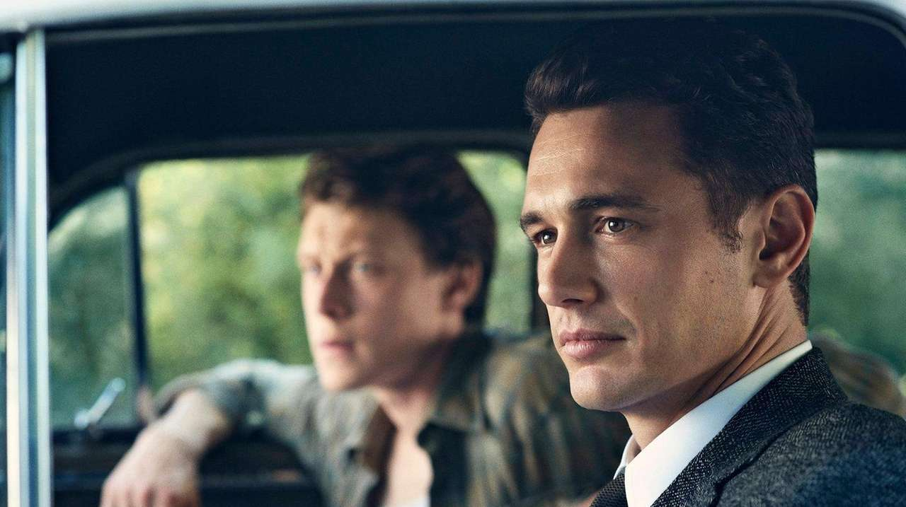 James Franco, right, and George MacKay in a