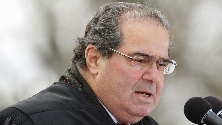 The sudden death of Justice Antonin Scalia will
