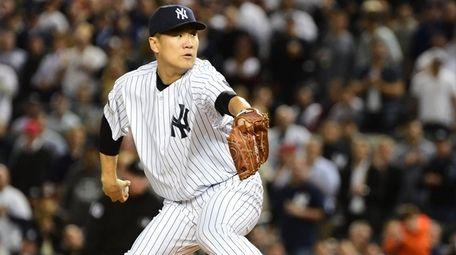 Yankees starting pitcher Masahiro Tanaka took the loss