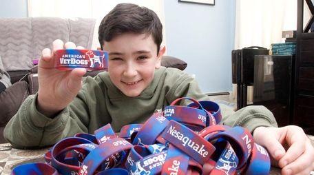 Matthew Redlein, who has raised $10,000 to send