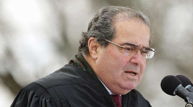 Supreme Court Justice Antonin Scalia died Saturday, Feb.