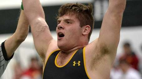 St. Anthony's Russell Kohler celebrates after defeating Abraham