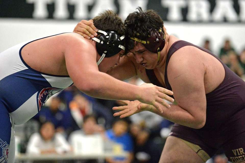 Kennedy's Ed Longest takes on Farrell's Nick Romanello