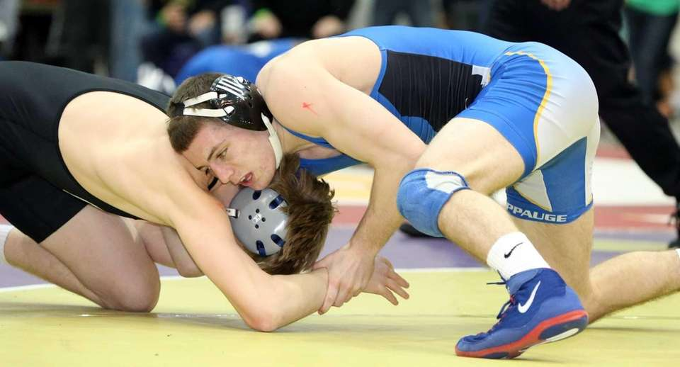 Chris Mauriello, Hauppauge 152 pounds Suffolk Division I