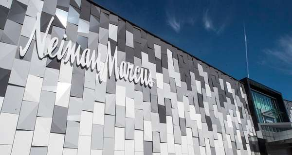 The exterior of the new Neiman Marcus store