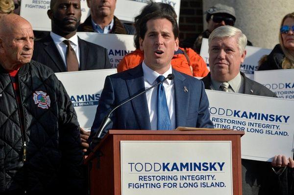 Assemblyman Todd Kaminsky (d-20) announces his bid