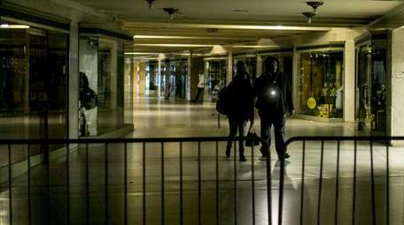 A partial power outage at Grand Central Terminal