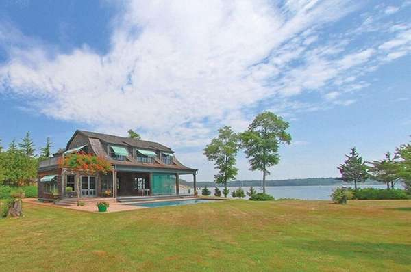 This Shelter Island property has 175 feet of