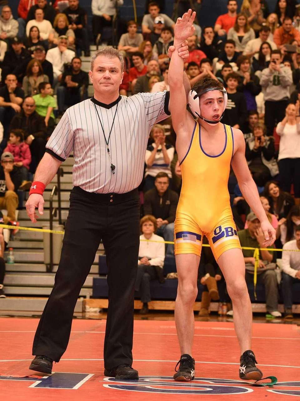 Oyster Bay's Keith Cassar wins against Clarke's Brandon