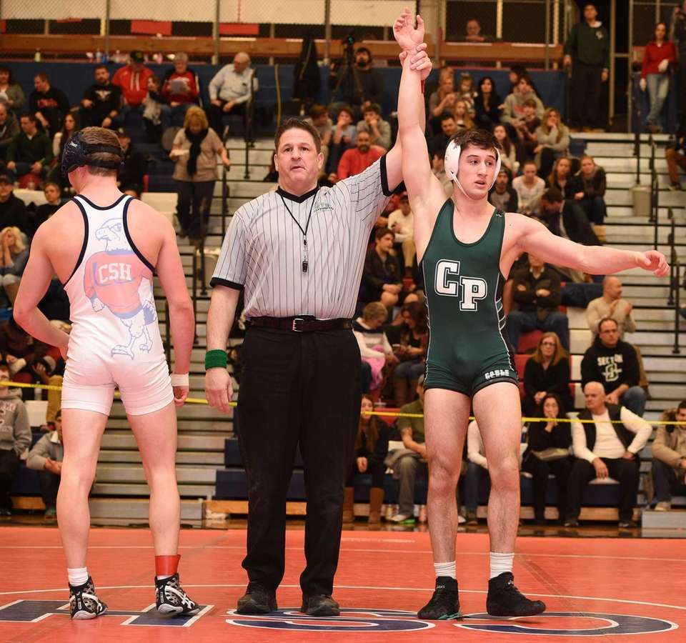 Shawn Mosca, Carle Place/Wheatley 160 pounds Nassau Division