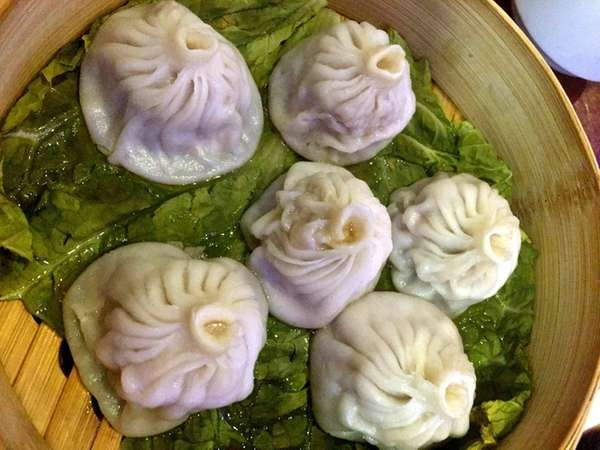Soup dumplings are a highlight of the menu