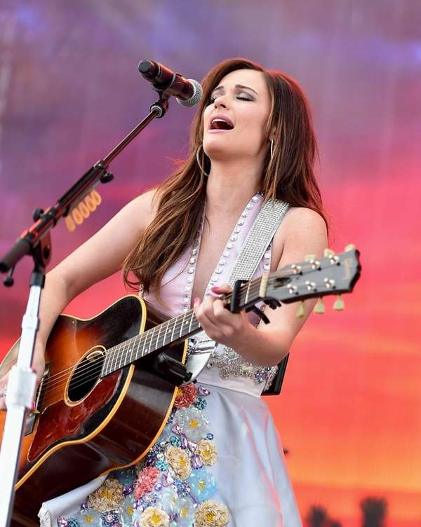 Kacey Musgraves is nominated for the 2016 best