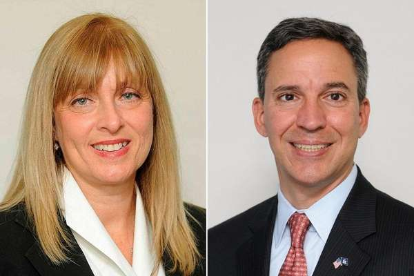 Assemb. Michelle Schimel (D-Great Neck) and state Sen.