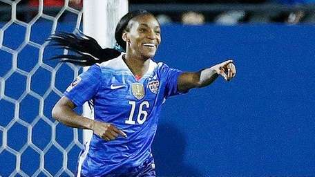 Long Island's Crystal Dunn scored five goals for