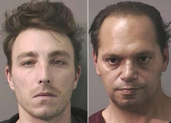 Raymond Buckridge, 32, left, and Michael Kelly, 46,