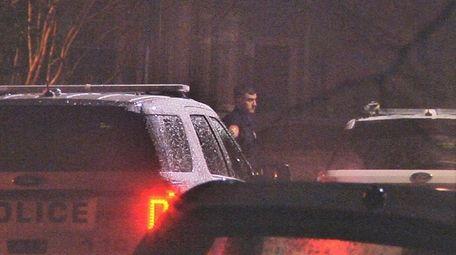 Nassau County police respond to a home on